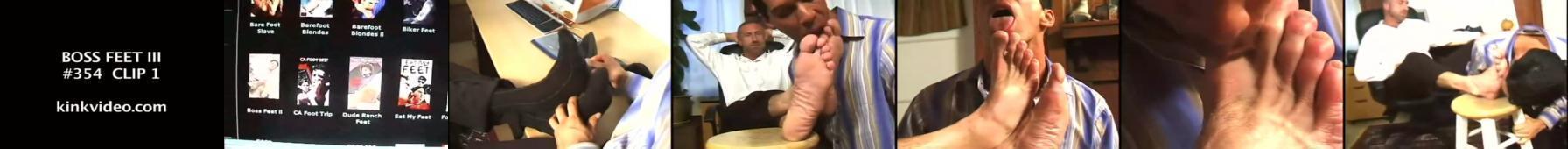 szef i jego stopy