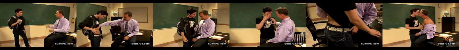 umięśniony nauczyciel wyruchany przez ucznia