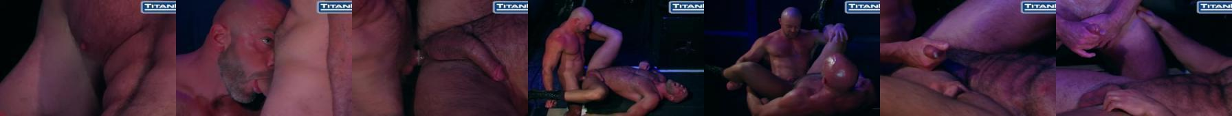 Tytanowi faceci uprawiają sex w klubie
