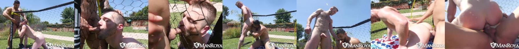 Latem gaye dają dupy w ogródku