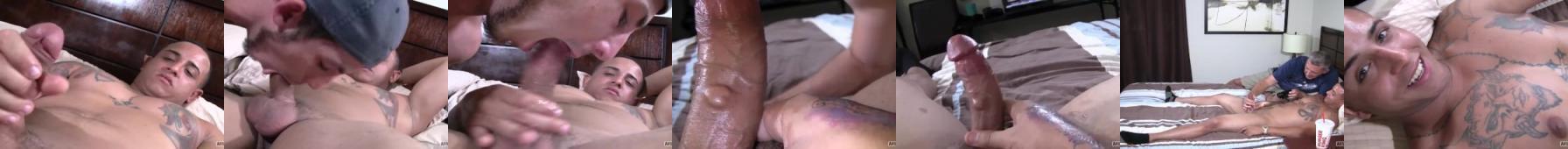 Heteryk po raz pierwszy uprawia sex oralny z facetem i chyba mu się podoba