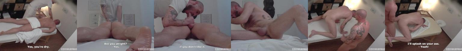 Czeski masaż zakończony dupczeniem
