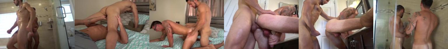 Wspólny prysznic a później seks bez gumy